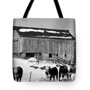 Hereford Barn Bw Tote Bag