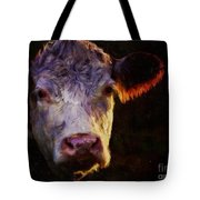 Hereford Cow Tote Bag