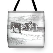 Herfords At The Water Tank Tote Bag