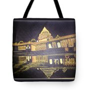 heritage of india - The president house Tote Bag