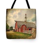 Heritage Village Barn Tote Bag