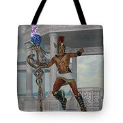 Hermes Messenger To The Gods Tote Bag