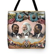 Heroes Of The Colored Race  Tote Bag