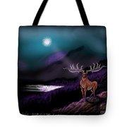 Heroic Landscapes #22- Great Irish Elk Tote Bag