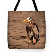 Egret Bad Feather Day Tote Bag