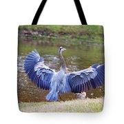 Heron Bank Landing Tote Bag