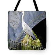 Heron Show Off Tote Bag