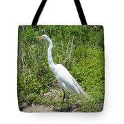 Heron Watching Tote Bag