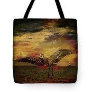 Herons Tote Bag
