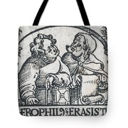 Herophilos, Erasistratus, Ancient Greek Tote Bag
