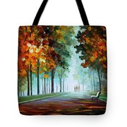 Heros From The Fog Tote Bag