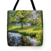 Herrevads Kloster By The Riverside Tote Bag