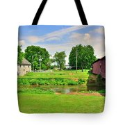Herr's Grist Mill And Covered Bridge Tote Bag