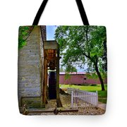 Herr's Mill And Covered Bridge 2 Tote Bag