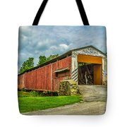 Herr's Mill Bridge - Pa Tote Bag