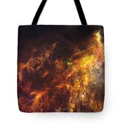 Herschel's View Of The Horsehead Nebula Tote Bag