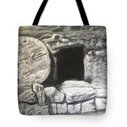 He's Not Here Tote Bag by Antonio Romero