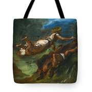 Hesiod And The Muse Tote Bag
