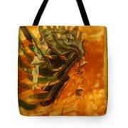 Hesitant - Tile Tote Bag