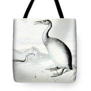 Hesperornis Regalis, Flightless Bird Tote Bag