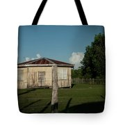 Hexagon House Tote Bag