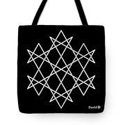 Hexagrammaton Tote Bag