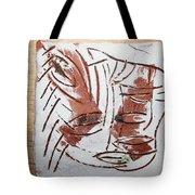 Hey - Tile Tote Bag