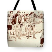 Hey Baby We Sing For You Tote Bag