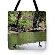 Hey Be Careful Its Hunting Season Tote Bag