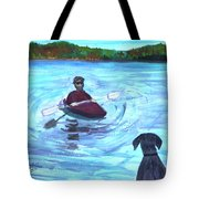 Hey Where You Going  Tote Bag