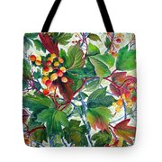 Hi-bush Cranberries Tote Bag