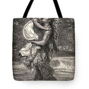 Hiawatha And Minnehaha Tote Bag by Unknown