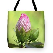 Hibiscus Bud Beauty Tote Bag
