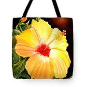 Hibiscus Glory Tote Bag