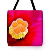 Hibiscus Glow Tote Bag