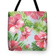 Hibiscus Paradise-jp3965 Tote Bag