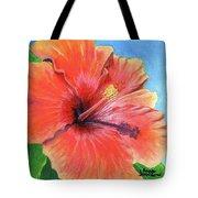 Hibiscus Passion Tote Bag