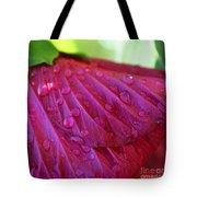 Hibiscus Square Tote Bag
