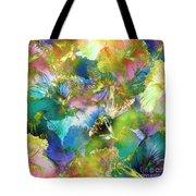 Hibiscus Trumpets Tote Bag