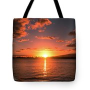 Hickam Sunset Tote Bag