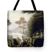Hicks: Peaceable Kingdom Tote Bag