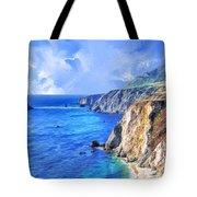 Hidden Beach At Big Sur Tote Bag