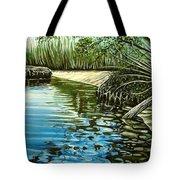 Hidden Beach Tote Bag