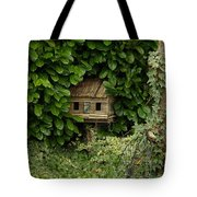 Hidden Birdhouse Tote Bag