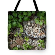 Hidden Bucket Of Rocks Tote Bag