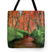 Hidden By Trees Tote Bag