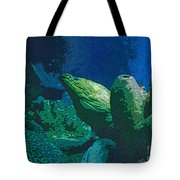 Hidden Eel Tote Bag