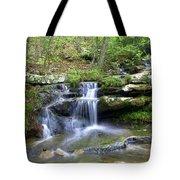 Hidden Falls 1 Tote Bag by Marty Koch