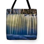 Hidden Falls Morning Glow Tote Bag