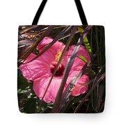 Hidden Hibiscus  Tote Bag